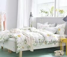 NEW IKEA STRANDKRYPA Duvet Quilt cover set Lovely Floral design Comforter Cover