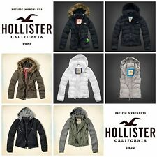 NWT! FS! Hollister by Abercrombie Outerwear Lobster Twill Parka Jacket Coat Vest