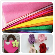 "12"" Mix Color Acrylic Blend Felt Non-woven Fabric SQUARES 1~10 squares DIY Craft"
