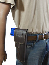 New Barsony Brown Leather Flap Gun Holster for Steyr Walther Full Size 9mm 40 45