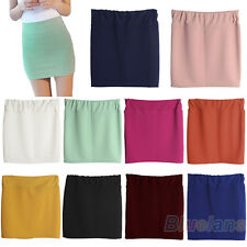 Charming Stylish Mini Skirt Seamless Stretch Tight Short Fitted Bodycon Clubwear