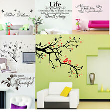 WALL STICKERS Removable Decal Modern family Mural Home Art Vinyl Decor Quote