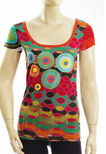 DESIGUAL tee shirt tunique BRESTED LIMA femme Taille S ref 42T1T2490 col 4013