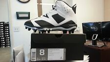 Air Jordan Retro 6 VI TD Cleat White Black Oreo  645419-110 size 8 ~ 9.5