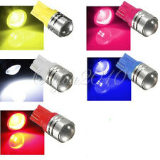 T10 W5W 194 1.5W Backup Reverse LED 5 Colors Light Projector Lens Bulbs US SHIP