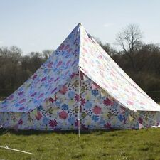 Flower Bell Tent With Zipped in Ground Sheet