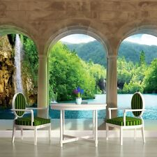 PHOTO WALLPAPER WALL MURALS PAPER DECORATIONS HOME ART NEW EXTRA LAKE VIEW 436P