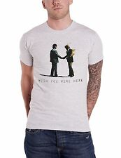 Pink Floyd Wish You Were Here Official Mens New Grey T Shirt