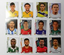 Panini 2014 FIFA World Cup Brazil Collectible Stickers:  Players 502 ~ 569