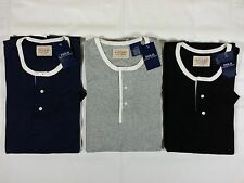 NWT POLO RALPH LAUREN Sleepwear Henley Tee T-Shirt S/S Mens Sizes M,L,XL