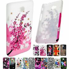 Plastic Skin Phone Protective Hard Cover Case Shield For LG L70 Series III L70