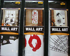 Halloween Wall Art Decorations - Peelable 2 sheets per pack choose design