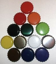 50 x crown bottle caps 26mm for beer, cider, juice bottles up to 10 colours