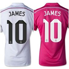 Real Madrid Home/Away 2014/2015 Authentic James 10 Shirt S/M/L/XL RRP £59.99