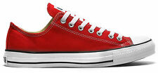 CONVERSE CHUCK TAYLOR ALL STAR Lo RED UNISEX CASUAL SNEAKERS MENS WOMENS SHOES