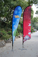 Feather Flag Custom Printed  Sail Flying Banner Outdoor Advertising Sign