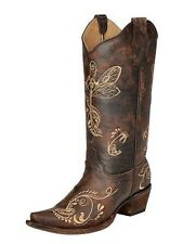 Womens Circle G by Corral fashion western boots style #5001 Distressed brown