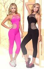 Hot Fitness Wear Jumpsuits - Candy Colors Women's Gym Yoga Work out Supplex wear