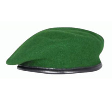BRITISH ARMY INTELLIGENCE CORP SILK LINED SMALL CROWN OFFICERS BERET