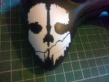 Call of Guty Ghosts Controller Xbox 360 or PS3 Ghost Decal Sticker