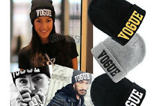 Beanie men women popular knitted hats fashion caps winter letters women cap