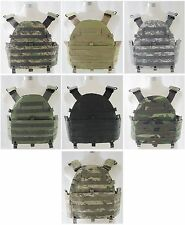 New Airsoft Cosplay 6094 Style Molle Plate Carrier Chest Rig Vest 7 Colors