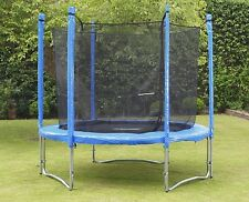8ft 10ft 12ft Trampoline with Enclosure Including FREE Ladder And Raincover
