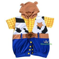 Woody Toy Story Halloween Fancy Party Costumes Jumpsuit Baby Size 00 0 1 2 FC035