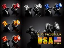 US Stock 6 Color 6MM CNC Motorcycle Swingarm Sliders Spools For Yamaha Year all