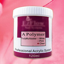 120g Nail Art Crystal Powder Polymer Builder Tips Acrylic Clear/Pink/White Color