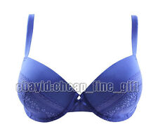 New Style Full Coverage Lace Underwire Thin Molded Bra 32/34/36/38 A/B/C/D B11