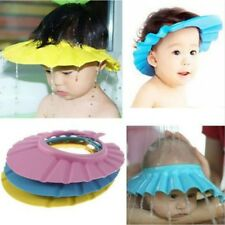 New Baby Kids Children Shampoo Bath Bathing Shower Cap Hat Wash Hair Shield