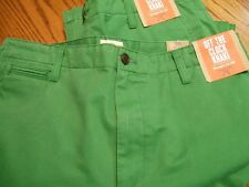 Dockers D2 Mens 100% Cotton Straight Fit Unique Green Casual Pants SR $58  NWTS