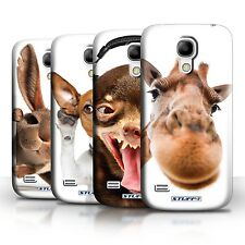 Phone Case Back Cover/Skin for Samsung Galaxy S4 Mini / Fun Funny Animal/Animals