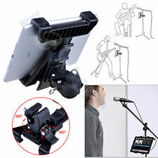 360° Adjustment Music Microphone Stand Mount Holder Universal Bracket Clip 60mm