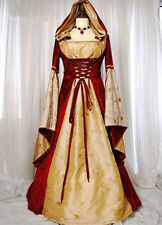 Gothic Medieval Gown Halloween Costumes Gown Fancy Dress Mythic long Dress