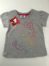 NEW - Girls Hello Kitty T-Shirt - Size 0, 1, 2,