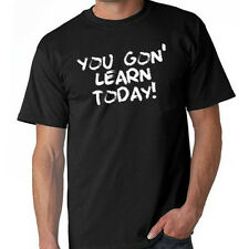 You Gon Learn Today Kevin Hart Ride Along Movie DVD Parody T-Shirt 8 Colors