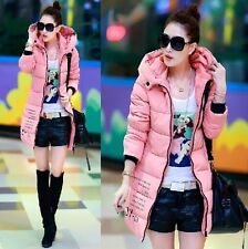Hot! New women's coat jacket and long sections down cotton jacket winter coat
