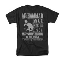 MUHAMMAD ALI POSTER Officially Licensed Men's Graphic Tee Shirt SM-3XL