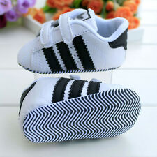 Infant Toddler Baby Girl Boy Soft Sole Crib Shoes PreWalker Sneakers 0-18 Months