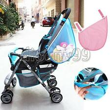 New Shopping Kids Baby Stroller Pushchairs Toys Diaper Net Mesh Storage Side Bag