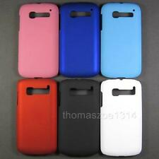Hard Rubber Back Case Cover Skin Pouch Bag For Alcatel Pop C5 One Touch OT 5036D