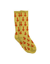 Brand New Flying Coffin – Inversion Socks Yellow/Orange One size fits all size 7