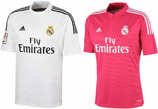 Real Madrid Home/Away 2014/2015 Authentic Ronaldo/Bale Shirt S/M/L/XL RRP £59.99