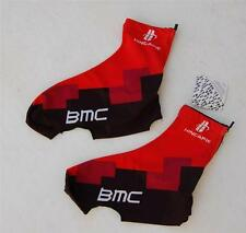 Black & Red Cycling Bike Shoe Bootie Covers Lycra B M C Print M L XL