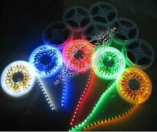 Bulk  XMAS Flexible LED Strip Lamp 5M 300LEDs SMD 5050 Waterproof Light 12V