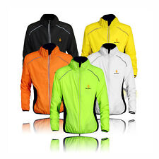 Cycling Jersey Riding Breathable Jacket Clothing Bike Long Sleeve Wind Coat