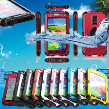 Waterproof Shockproof Aluminum Gorilla Glass Metal Case for Samsung Galaxy S5