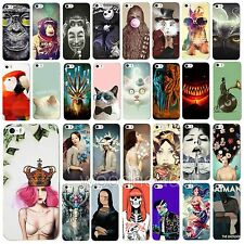 New Phone Skin Case Cover Painted Various Pattern for Apple IPhone 4 4S 5 5S 5C